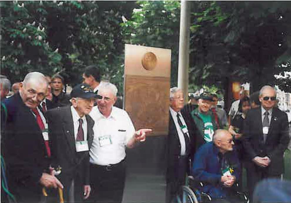 Denkmal für die Timberwölfe in Halle